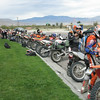 This was only a small portion of the bikes that did the Desert Dash.