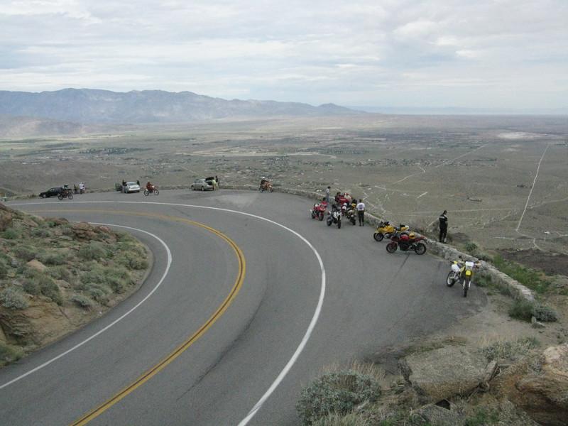 Montezuma Grade view point overlooking the Borrego area.