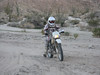 Riding in the sandy washes can be very tough.