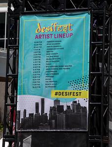 desiFEST 2018 Artist Lineup