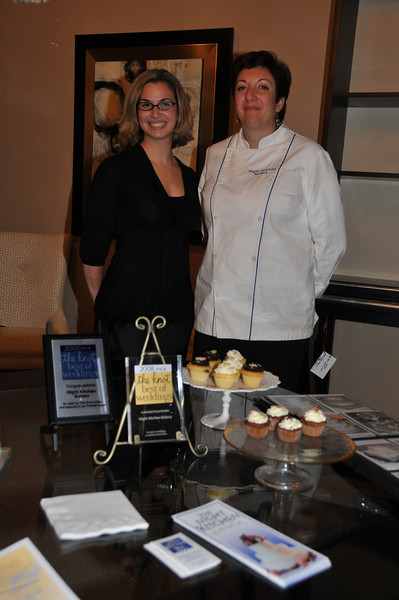 Pastry Chef Peri Anderson with owner Amy Edelman of Night Kitchen Bakery