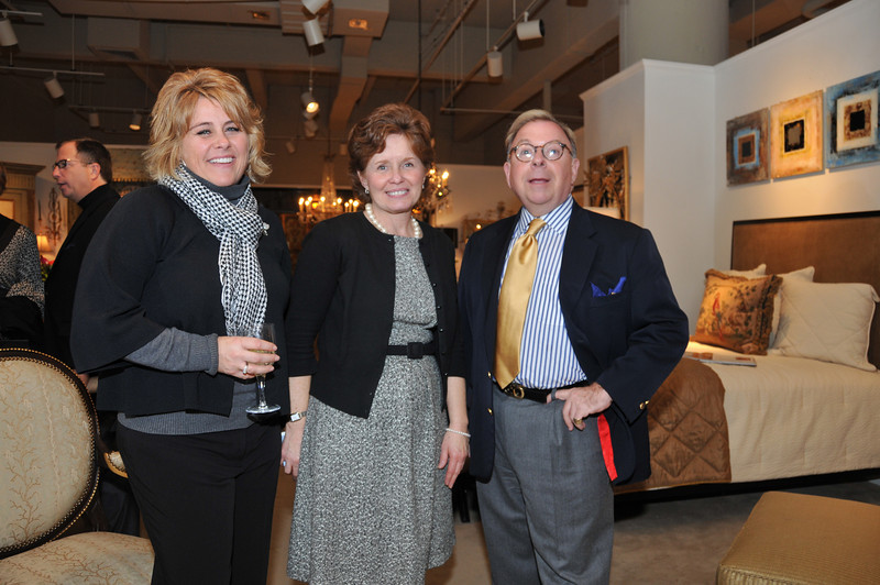 Michelle Smith, Barbara Jackson and Bill Armstrong Bill is the Robert Allen Showroom manager and Barbara is the Robert Allen Regional Director.