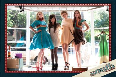 Sabrina Spanta and models