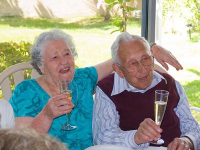 Deszo's 96th Birthday Party