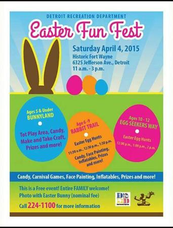 Detroit Rec. Dept. - Easter Fun Fest 2015