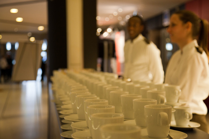 Zeer welkom, de koffie stond klaar!