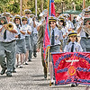 It was a tad warm on this day but a terrific parade and turnout.