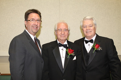 Pastor Clark Tanner, Gary Cryer and Pastor Art Wilson