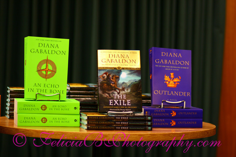 """This book signing was so well attended that Vroman's sold out of """"The Exile"""" that night!"""