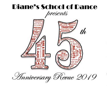 DSOD 45th Anniversary Revue Logo