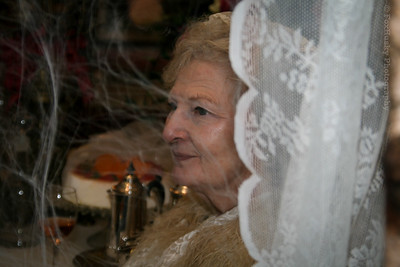 "Miss Havisham uit ""Great Expectations"""