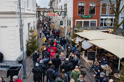Walstraat: de ingang van het Dickens Festijn