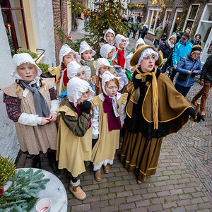 Schoolklasje ziet de Ghost of Christmas