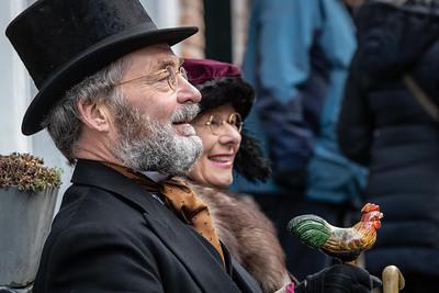 Engelse heer en dame