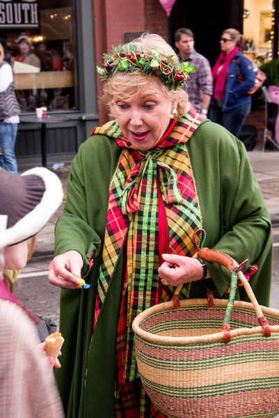 Dickens of a Christmas brings entertaining weekend to Historic Downtown Franklin<br /> <br /> It's a 27-year holiday tradition in Historic Downtown Franklin on the second weekend in December to travel back in time about 150 years to a Main Street from the time of Charles Dickens, and the tradition continues this year Dec. 8-9, 2012, 10 a.m. to 5 p.m. Saturday and noon to 5 p.m. Sunday. Dickens of a Christmas is a free street festival, is open to the public, and is expected to attract some 50,000 visitors over the weekend.<br /> <br /> More than 250 volunteers participate in the event as characters from Dickens' stories, vendors or street performers. Show up any time over the course of the weekend, and you're sure to meet Ebenezer Scrooge, his unfortunate partner Marley (the ghost in chains), little Tiny Tim Cratchit and his family, and many more, including Father Christmas.
