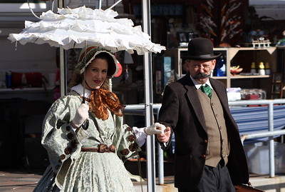 Dickens on The Strand 2012