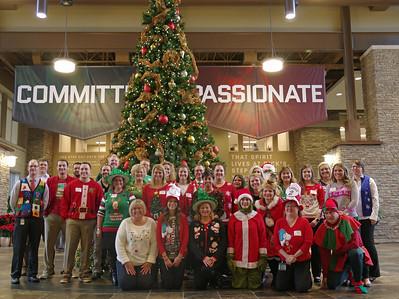 Finance Department Christmas, December 17, 2015
