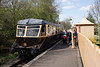 1940s GWR Diesel Railcar at Didcot Railway Centre April 2009