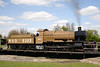 43XX Mogul steam locomotive on turntable at Didcot Railway Centre April 2009