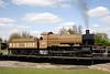 43XX Mogul steam locomotive on turntable at Didcot Railway Centre April 2009