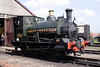 Great Western Class CR steam locomotive built 1898 at Didcot Railway Centre April 2009