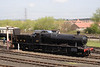 28XX steam locomotive at Didcot Railway Centre April 2009