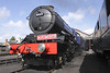 GWR 4-6-0 No 6023 Steam Locomotive King Edward II at Didcot Railway Centre September 2011