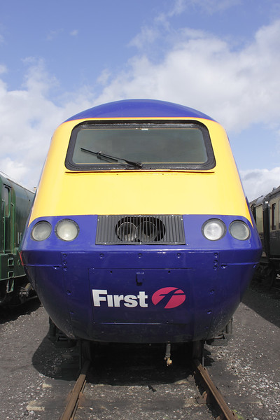 First Great Western HST 125 at Didcot Railway Centre September 2011