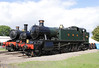 GWR 2-6-2T Prairie Steam Locomotive at Didcot Railway Centre September 2011