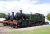 GWR 2-6-2T Prairie Steam Locomotive at Didcot Railway Centre September 2011