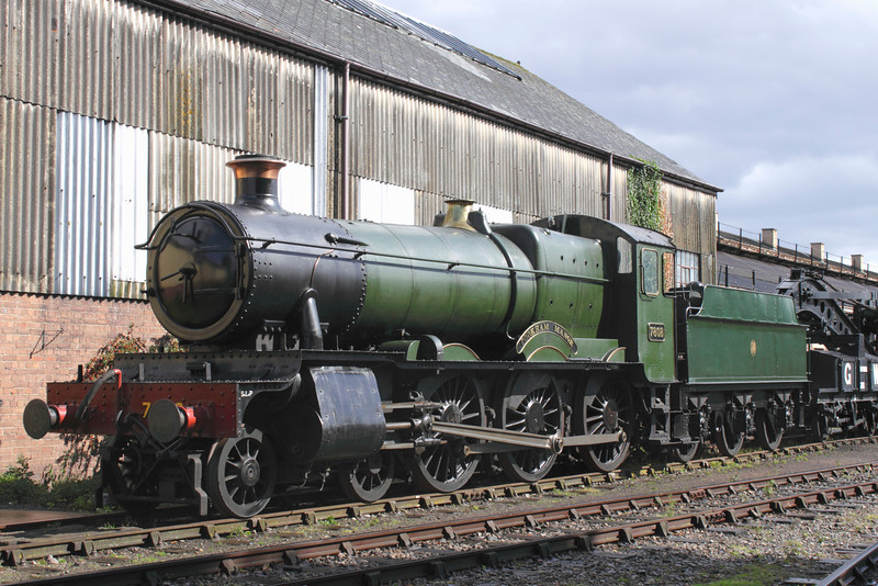 GWR 7800 Manor Class Steam Locomotive 'Cookham Manor' at Didcot Railway Centre September 2011