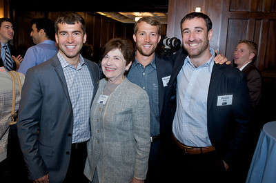 Jason Friend, Phyllis Cook, Benjamin Friend and Daniel Rabin