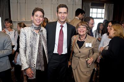 Jana Corbin, Dr. Andy David - Israeli Consul General and Estelle Safier