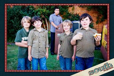 Forrest, Riley, Bear and Daniel