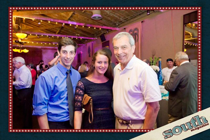 Ross Bragg, Megan Boyer, and Stratton Leopold