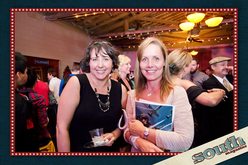 Denee Nason and Kendra Boyle from Paula Dean Enterprises