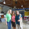 <b>Elinor Williams, Toni Westland and Marta Isaacson</b> Ding Darling Staff Visit/Sylvia Pelizza's Going Away Luncheon September 10, 2014 <i>- Kay Larche</i>