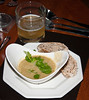 The Soup<br /> Thai Green Curry with linseed bread<br /> Hoegaarden