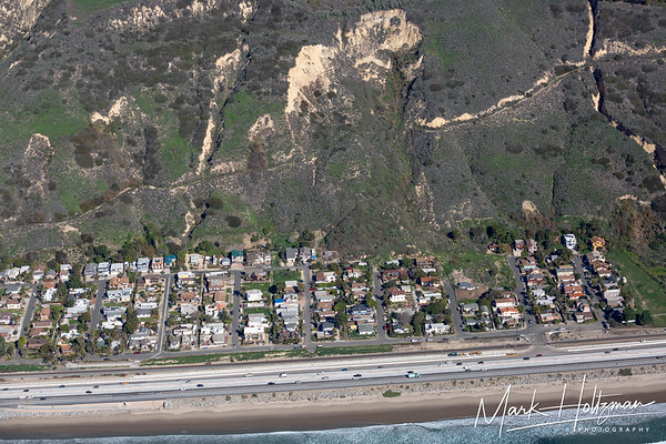 2015 La Conchita Landslide Aerial Photograph