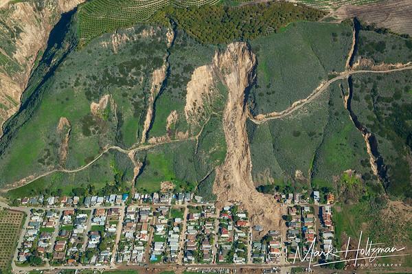 2005 La Conchita Landslide Aerial Photograph