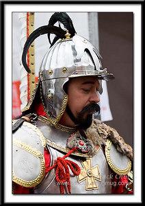 An ancient Polish knight.