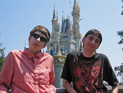 Beth and Ben at the Magic Kingdom   (Apr 22, 2005, 12:28pm)