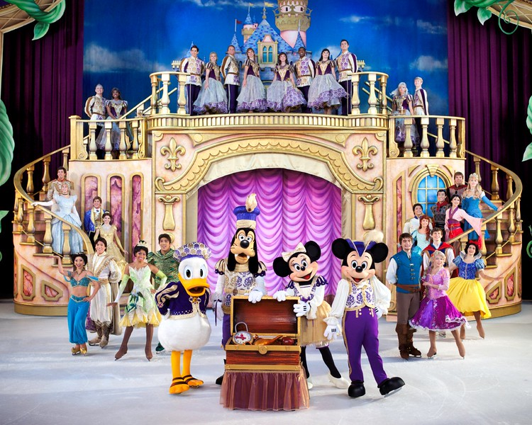 Disney on Ice:Treasure Trove coming to Ontario and Long Beach celebrating Disney Animation