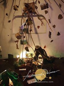 IMPRINTS Art Installation Exhibit Night