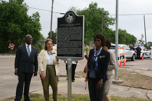 G.W. Carver Historical Marker 4/29/2011