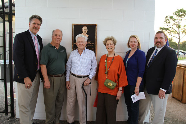Dan Stallworth plaque dedication 2014