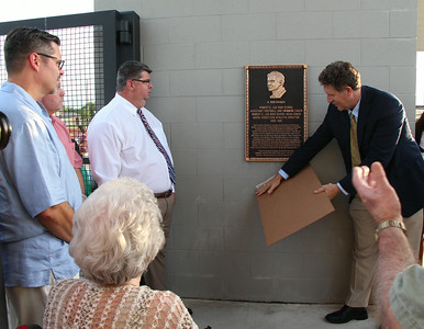 Ron Kramer Field Dedication August 28, 2014