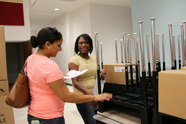 Staff tours of new campuses