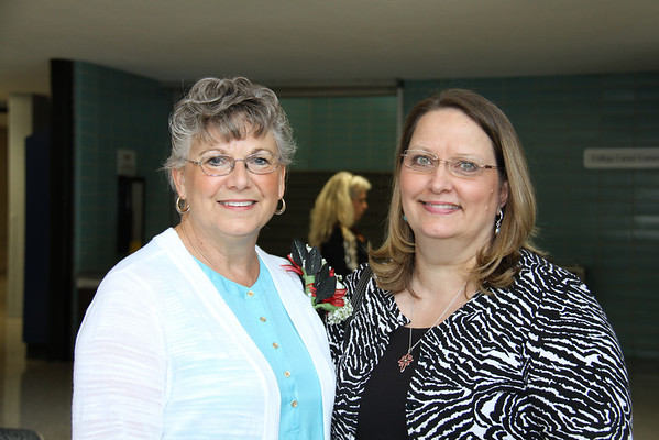 Retirees and Teacher of the Year Event, May 29, 2014