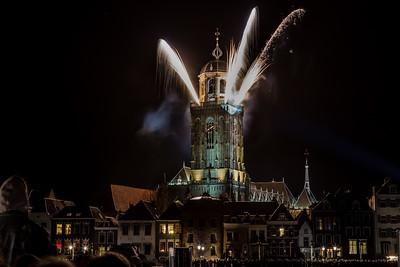Vuurwerk Deventer 1250 Jaar - 5 januari 2018